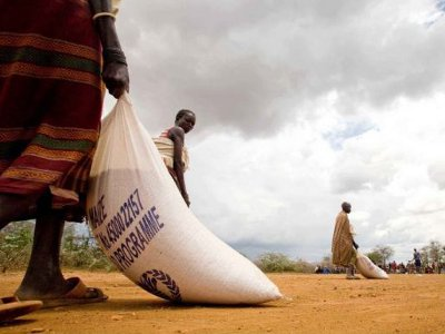 Uganda food aid