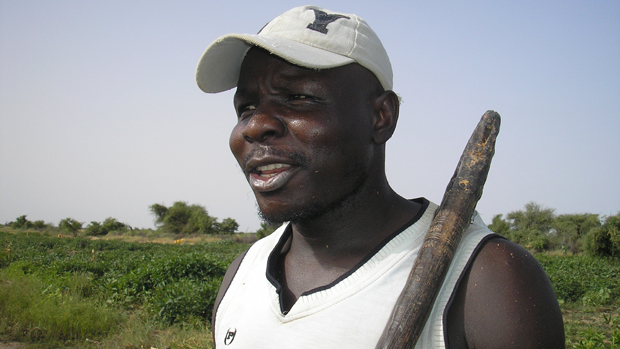 Mauritania farmer