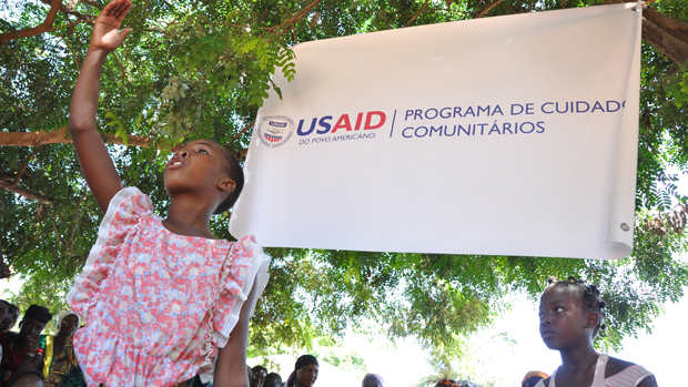 USAID's community care program in Mozambique