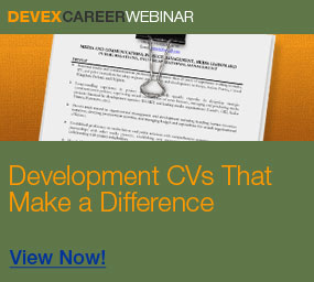 Post-CV Webinar http://www.devex.com/en/news/webinar-recording-development-cvs-that-make-a/77089