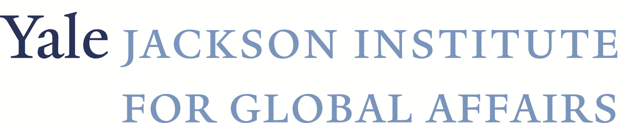 Yale University's Jackson Institute for Global Affairs